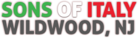 Sons Of Italy Wildwood Logo